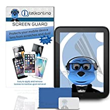 iTALKonline HP TouchPad 4G Clear Transparent 10 Pack LCD Screen Protector Guard with MicroFibre Cleaning Cloth and Application Card
