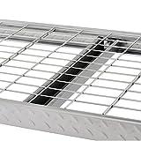 Muscle Rack TP722472W3 3-Shelf Steel Treadplate