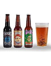 5 pack mixto + 1 vaso de colección MOGOS Cerveza Artesanal