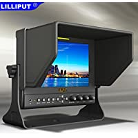 LILLIPUT 663 7 Metal shell IPS 1080P HDMI IN HD Monitor for DSLR & Full HD Camcorder for Canon 5D2 5D3 II III BlackMagic BMPCC DRLR Camera by VIVITEQ INC