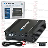 Blaupunkt AMP1501 Mono 1-Channel Class D Subwoofer Amplifier 1500W Max Power