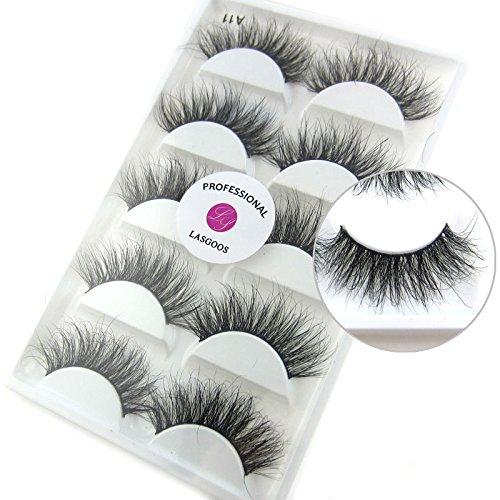 Eyelash LASGOOS Luxurious Natural Eyelashes