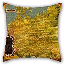 Oil Painting Stefano Bonsignori - Central Northern Europe- Belgium, The Netherlands, Denmark, Germany, Poland, Switzerland, Austria An Cushion Cases Best For Christmas Teens Boys Kids Room Bedroom