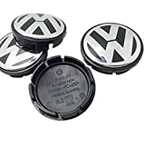 SQSM 4 Pieces A Set Of Wheel Center Hubcap Caps For Volkswagen VW (56mm)