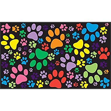 Toland Home Garden Puppy Paws 18 x 30-Inch Decorative USA-Produced Standard Indoor-Outdoor Designer Mat 800088