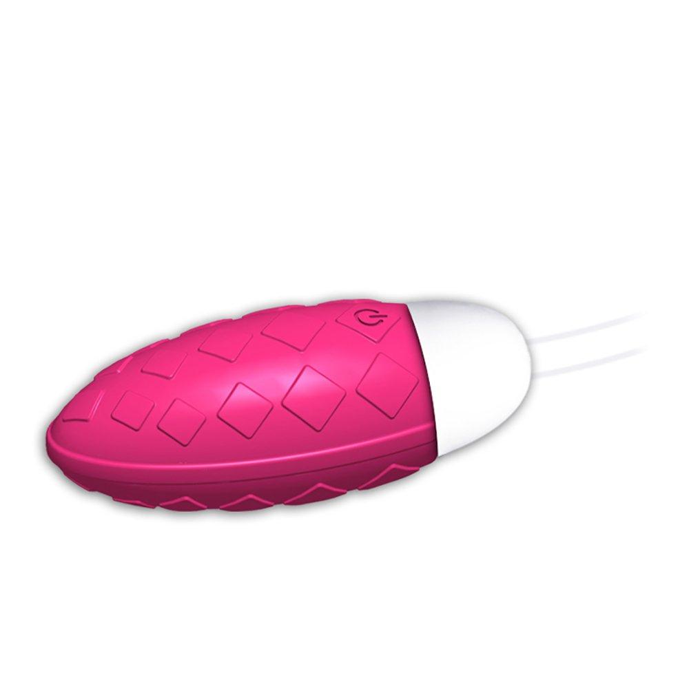 Bullet Huevo Vibrador Masaje Femenino Femenino Femenino G-Point Massager 10 Frecuencia Vibración Carga/Batería,Pink,Usbbattery 11fa02