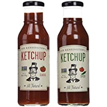 Sir Kensington Variety Set: Classic Ketchup & Spiced Ketchup, 14 Oz. Bottles [1 of Each] by Sir Kensington