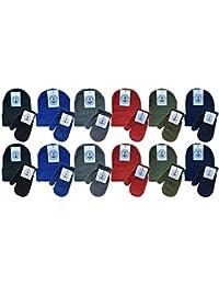 Kids Winter Beanie Hat Assorted Colors Bulk Pack Warm Acrylic Cap