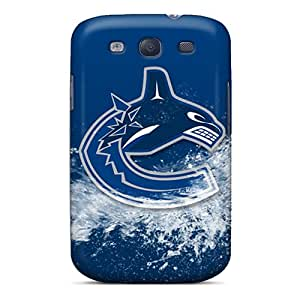 SherriFakhry Samsung Galaxy S3 High Quality Hard Phone Cover Allow Personal Design Fashion Vancouver Canucks Pictures [Lin10362fIcc]