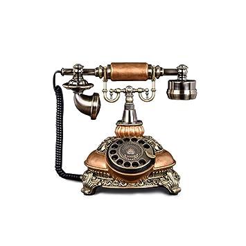 Sonido Antique Retro Creative Fashion Old Hotel Room Teléfono Fijo ...