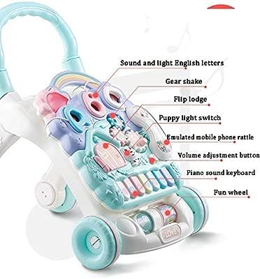 Andador Bebe Bebé del niño del Caminante Caminante de múltiples ...