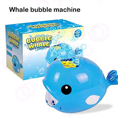 TraGoods Whale Bubble Machine, Automatic Bubble Blower, Toy for Kids Boys Girls Age of 3-16, 2000 Bubbles Per Minute, Easy to Use for Parties, Wedding, Indoor and Outdoor Activities