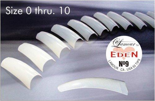Lamour Eden Natural Tips 50pcs/bag, #5