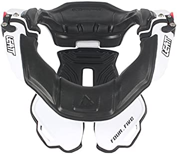 Leatt Dbx 4 5 Neck Brace White Small Medium By Leatt Brace Auto