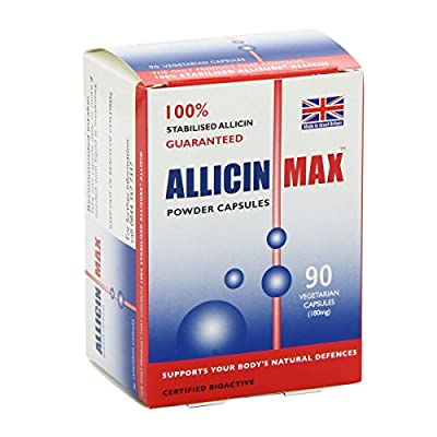 (4 PACK) - Allicin Max - Allicin Max | 90's | 4 PACK BUNDLE