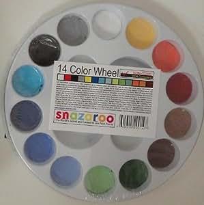 14 Color Face Painting Walk around Wheel snazaroo