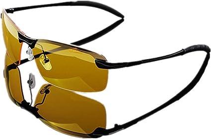 Professional Fishing Glasses Men/'s Night-vision Outdoor Sport Eyewear UV400 Lens