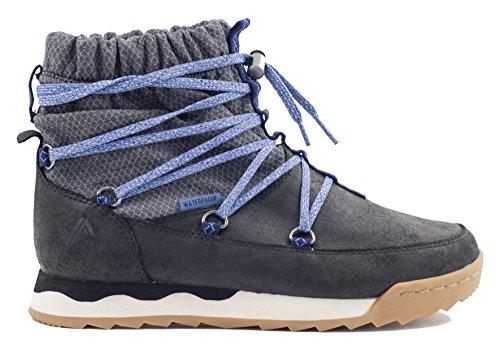 Forsake Scrunch – Women's Waterproof Insulated Leather Boot (7, Black) Suede Scrunch Boot