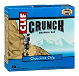 Clif Crunch Granola Bar Chocolate Chip Bars, 5-2 pk (Pack of 3) by Clif