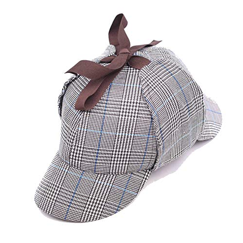 SINXE Sherlock Men Cap with Ear Flaps Women