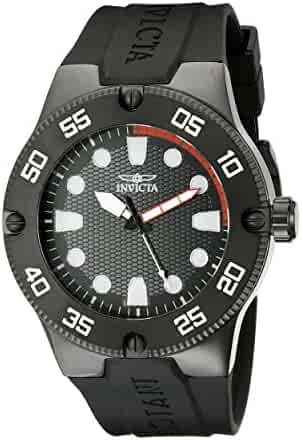 Invicta Men's 18026SYB Pro Diver Stainless Steel Watch with Black Band