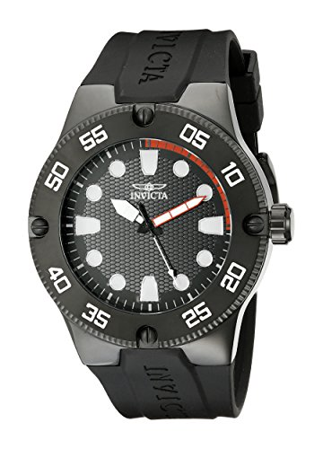 Invicta Men's 18026SYB Pro Diver Stainless Steel Watch with Black Band by Invicta