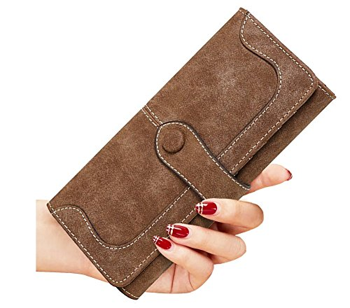 SeptCity Womens Wallet Western Leather