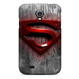 Samsung Galaxy S4 MFL20263GUzF Allow Personal Design Nice Superman Pattern Anti-Scratch Hard Cell-phone Case -KennethKaczmarek