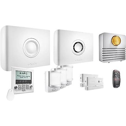Somfy Protexiom 600 GSM - Alarma: Amazon.es: Bricolaje y ...