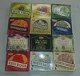12 Assorted Boxes of HEM Incense Cones, Set 12 X 10 (120 total) Larger Image