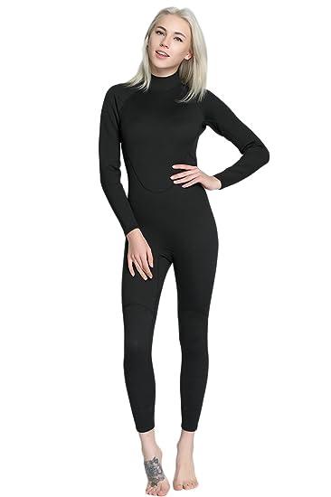 Amazon.com: Micosuza para mujer Full traje de neopreno ...