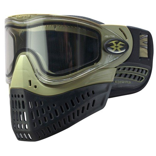 Empire Paintball e-Flex Goggle, Olive - Empire Event Goggle