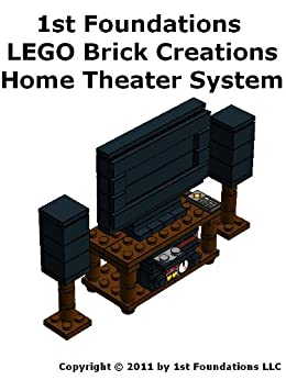 1st Foundations Lego Brick Creations Home Theater System