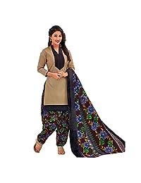 Designer Printed Cotton Salwar Kameez Ready Made Suit Indian Dress