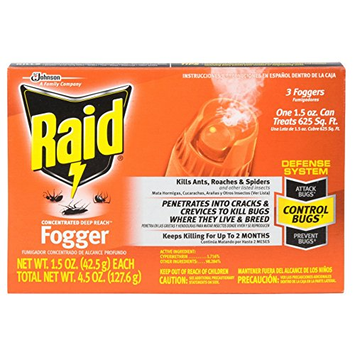 Raid Concentrated Deep Reach Fogger (3 Count) by Raid