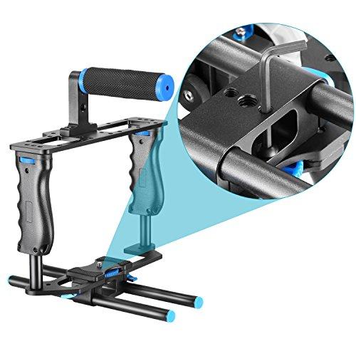 neewer aluminum alloy camera video cage film movie making