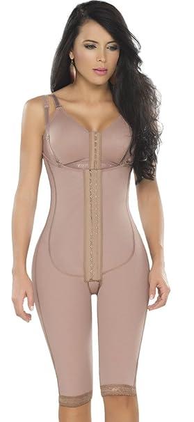 Fajas dprada 11175 ropa de compresión colombianas Reductoras Post parto