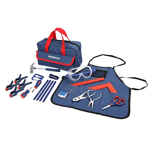WORKPRO 23-Piece Children's Real Tool Kit with ()