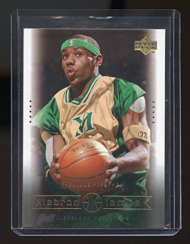 2003 Ships - 2003 Upper Deck #1 LeBron James Cleveland Cavaliers Rookie Card- Mint Condition Ships in New Holder