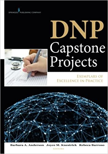 Examples of nursing capstone projects
