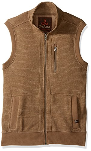 Performance Fleece Vest (prAna Men's Performance Fleece Vest, XX-Large, Dark Khaki)