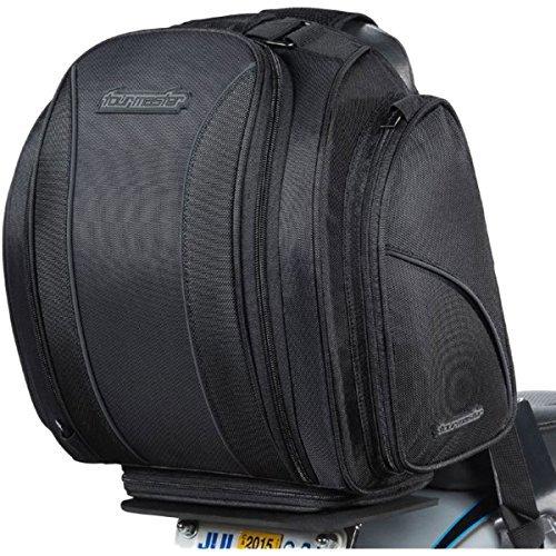 - Tourmaster 8201-0305-00 Nylon Cruiser 3 Commuter Sissybar Bag (Black)