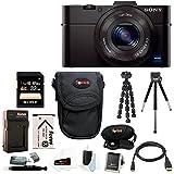 Sony DSC-RX100M II Cyber-shot Digital Camera with 32GB Deluxe Accessory Bundle