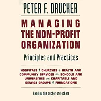 Amazon com: Managing the Non-Profit Organization: Principles