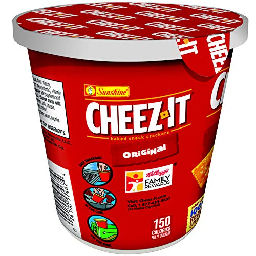 Cheez-It Baked Snack Cheese Crackers in a Cup, Original, Single Serve, 2.2 oz by Cheez-It (Image #6)