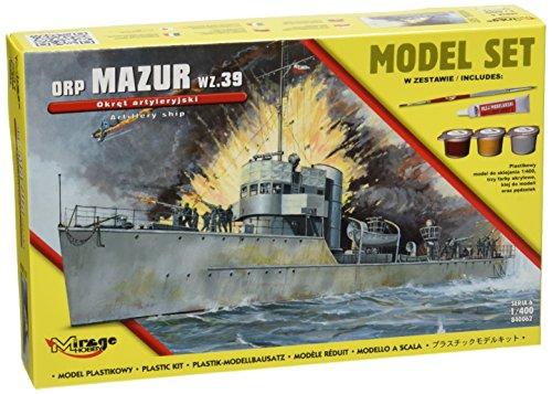 Mirage Hobby 840062-Modélisme Jeu de orpmazur WZ. 39THE gunnery Ship