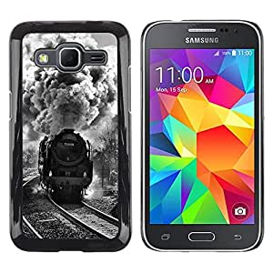 Stuss Case / Funda Carcasa protectora - VAPOR DE TREN DEL MOTOR DEL FERROCARRIL - Samsung Galaxy Core Prime