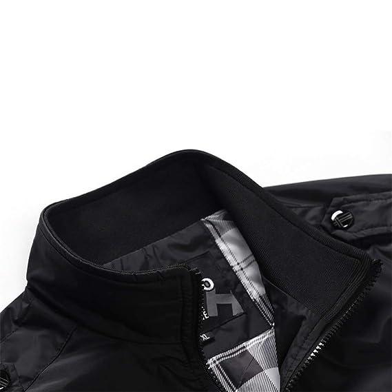 Amazon.com: Clearance Mens Coat! Pervobs Mens Autumn Lightweight Windbreaker Jacket Casual Long Sleeve Solid Zipper Jacket Coat: Clothing