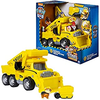 Paw Patrol 6046466 Ultimate Rescue Construction Truck, Yellow