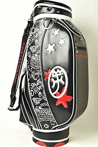 (カステルバジャック) CASTELBAJAC キャディバッグ メンズ スポーツ ゴルフ 23003-307 (ブラック(99) 40)